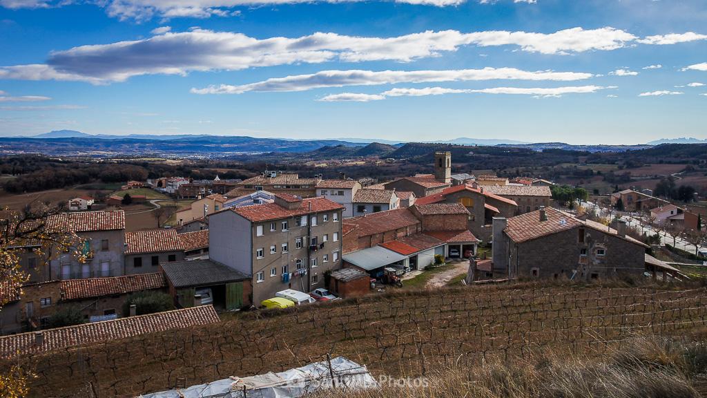 Llanos del Berguedà desde el Tossal de Avià