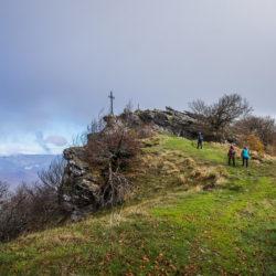 La cruz del Bargagainl, el punto más alto de Urbasa
