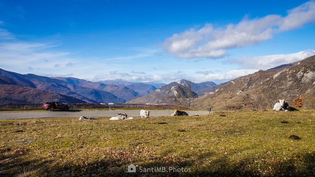 El mirador de Unac en el Alto Ariège