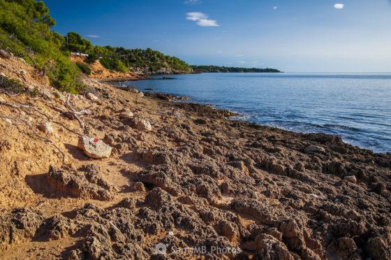 Playas y calas del Perelló por el Camino de Ronda