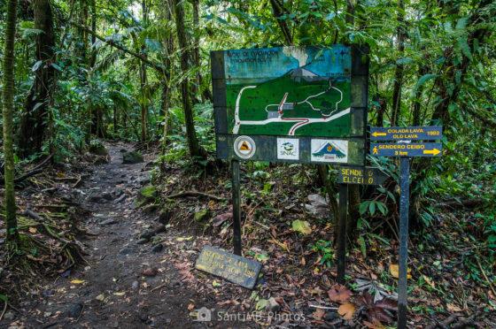 De fotohiking por Costa Rica: las Coladas del Volcán Arenal
